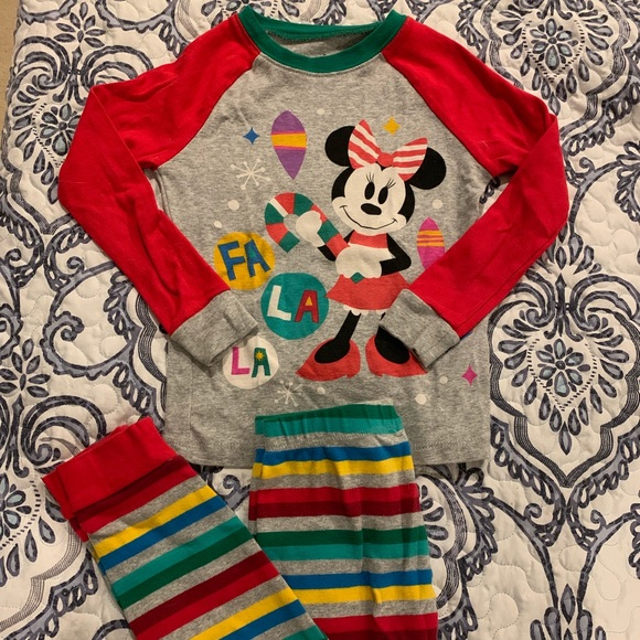 Disney Other - Minnie Mouse Christmas Pajamas